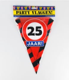 Party Vlag 25jr