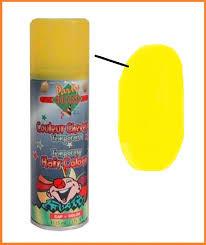 Haarspray Geel 125ml
