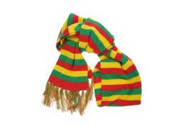 Sjaal Rood-Geel-Groen