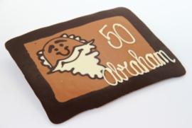 Chocolade Wensplaat Abraham
