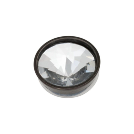 Top part pyramid crystal black