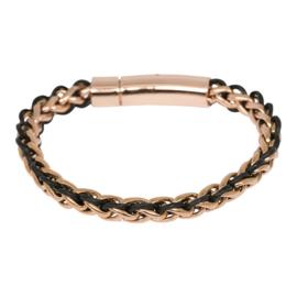 IBR55-02 Armband Rose-Zwart