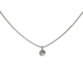 Necklace snake top part base 40 cm