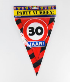 Party Vlag 30jr