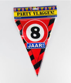 Party Vlag 8jr