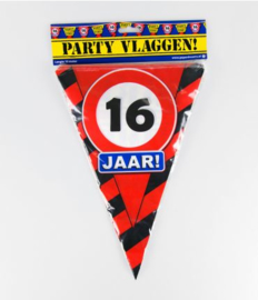 Party Vlag 16jr