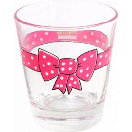 Glas Donker Roze