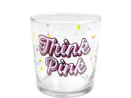 Glas Think Pink