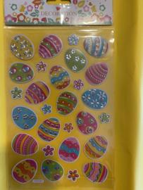 Ei decoratie stickers Set1
