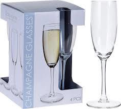 Champagneglazen Set 4