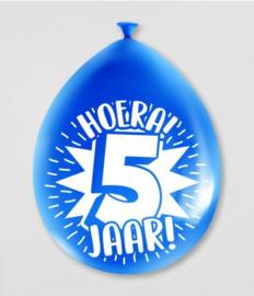 Ballonnen 5jr