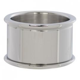 Basisring Zilver 12mm
