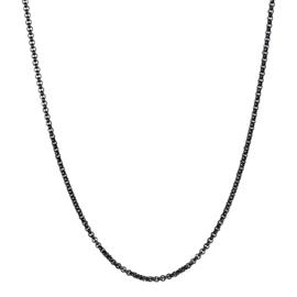 IJC81-5 Collier Zwart 80cm 3mm