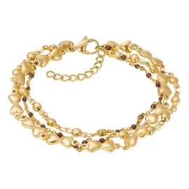 Bracelets Botswana Gold