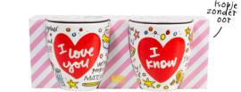 Set 2 mini mugs