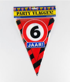 Party Vlag 6jr