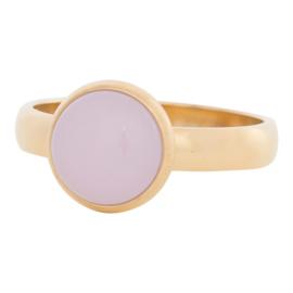 R4304-1 PinkStone Goud 4mm