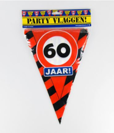 Party Vlag 60jr