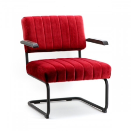 Lounge Chair Operator - Red