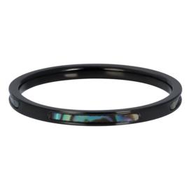 R5202-05 Blue Amber 2mm Black