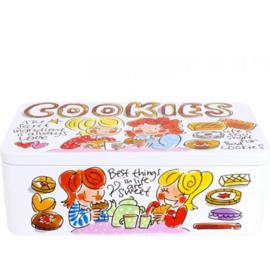 Blik Cookies Klein Even Bijkletsen