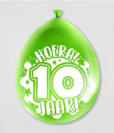 Ballonnen 10jr