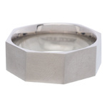 IXXXI Steel Ring R03 Mat Staal