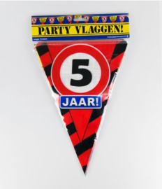 Party Vlag 5jr