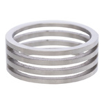 IXXXI Steel Ring R02 Mat Staal