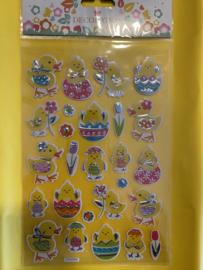 Ei decoratie stickers set3