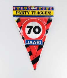 Party Vlag 70jr