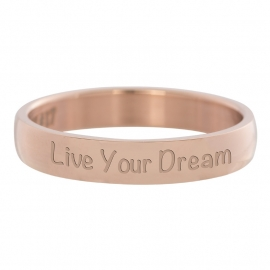 R2109-2 Live Your Dream Rose4mm