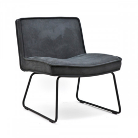 Lounge chair Montana Anthracite Touareq