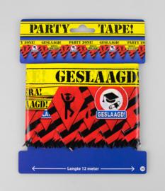 Party Tape Geslaagd