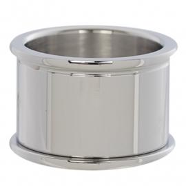 Basisring Zilver 14mm