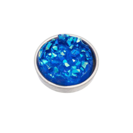 Top Part Drusy Blue
