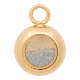 C42301-01 Charm With Sand Goud