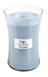 Soft Chambray Large Candle