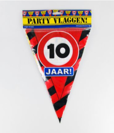 Party Vlag 10jr