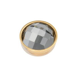 Top part facet black diamond gold
