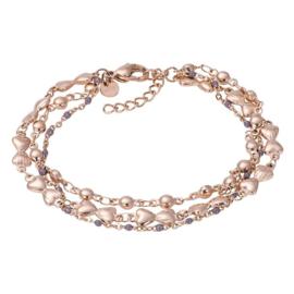 Bracelets Botswana Rose