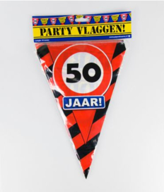 Party Vlag 50jr