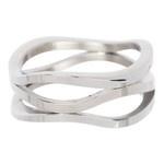 IXXXI Steel Ring IXR009 Silver