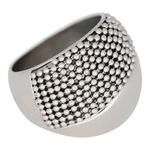 IXXXI Steel Ring IXR018 Silver