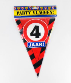 Party Vlag 4jr