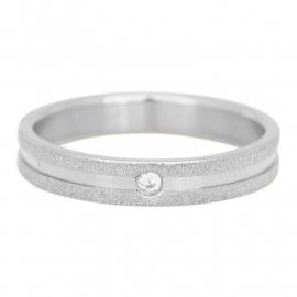 R3603-3 Sandblasted Cristal Zilver 4mm