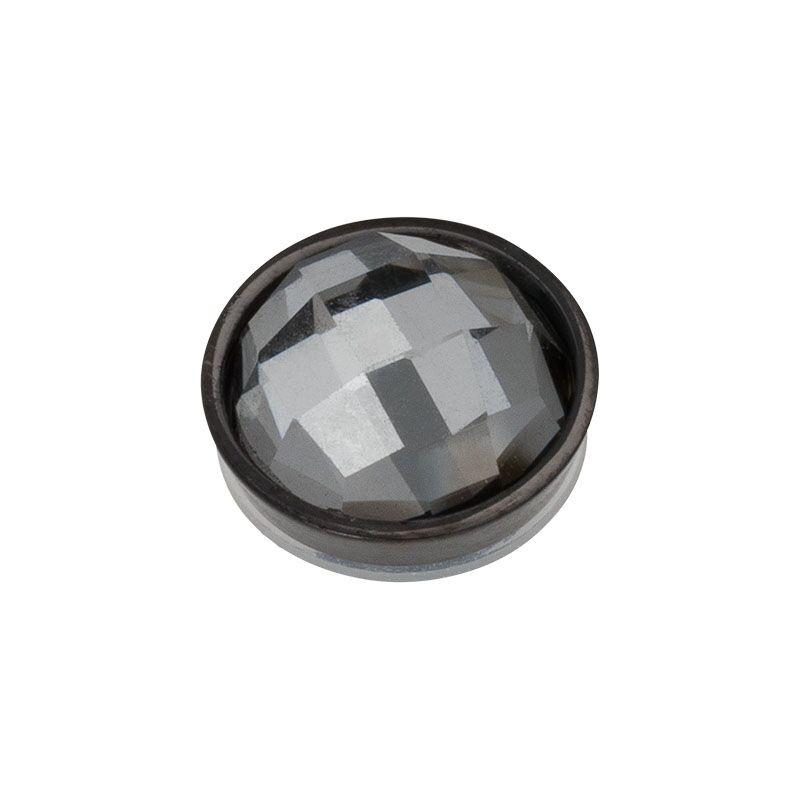 Top part facet black diamond black