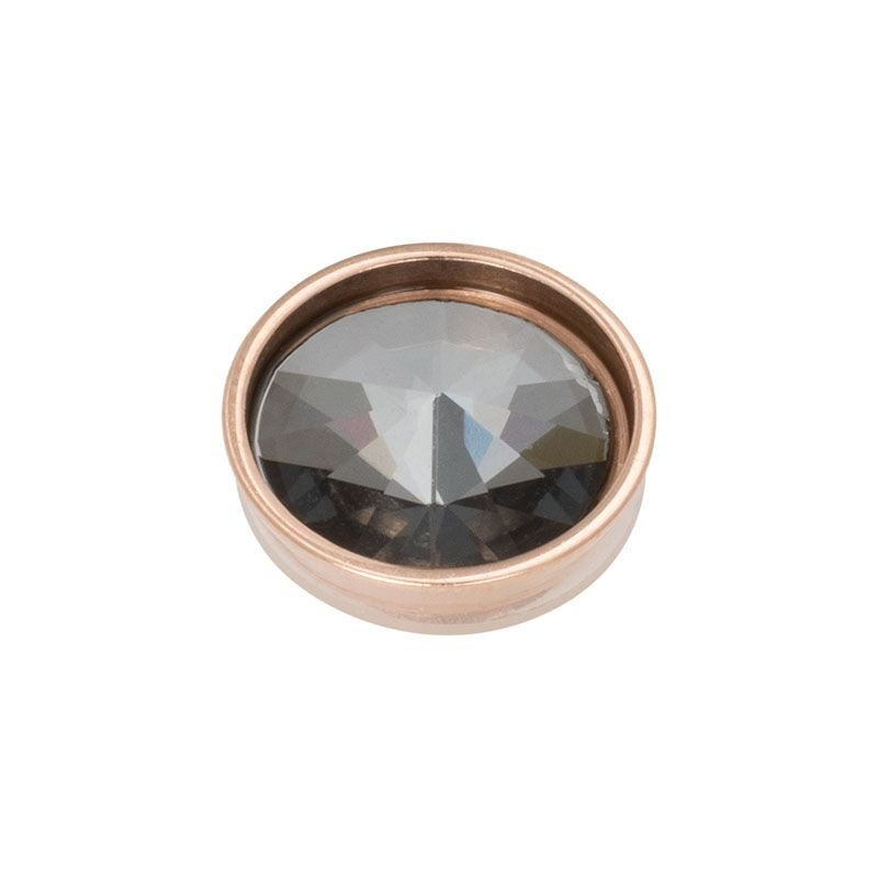 Top part pyramid black diamond rose