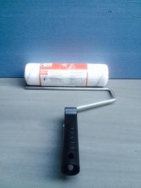 25cm Antispat roller fijn vilt met houder