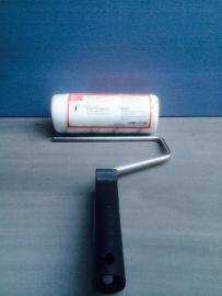 18cm Antispat roller fijn vilt met houder